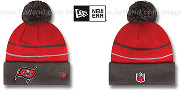 Buccaneers THANKSGIVING DAY Knit Beanie Hat by New Era