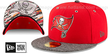 Buccaneers '2016 NFL DRAFT' Fitted Hat by New Era