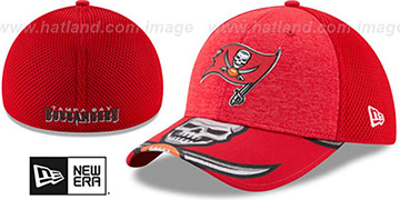 Buccaneers 2017 NFL ONSTAGE FLEX Hat by New Era