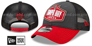 Buccaneers 2021 NFL TRUCKER DRAFT 940 SNAP Hat by New Era