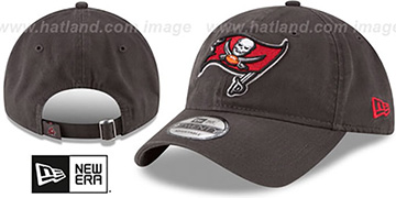 Buccaneers CORE-CLASSIC STRAPBACK Pewter Hat by New Era