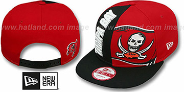 Buccaneers 'NE-NC DOUBLE COVERAGE SNAPBACK' Hat by New Era