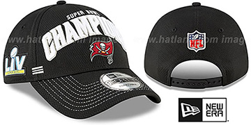 Buccaneers SUPER BOWL LV CHAMPS LOCKER ROOM Hat by New Era