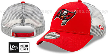 Buccaneers TEAM-BASIC TRUCKER SNAPBACK Hat by New Era