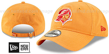 Buccaneers THROWBACK CORE-CLASSIC STRAPBACK Orange Hat by New Era