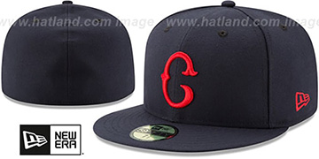 Buckeyes 'TURN-BACK-THE-CLOCK' Fitted Hat by New Era