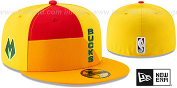 Bucks '18-19 CITY-SERIES' Multi Fitted Hat by New Era