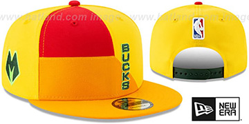 Bucks 18-19 CITY-SERIES SNAPBACK Multi Hat by New Era