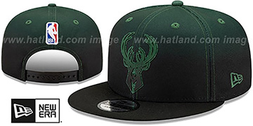 Bucks 'BACK HALF FADE SNAPBACK' Hat by New Era