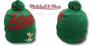 Bucks 'VICE BEANIE' Green by Mitchell and Ness