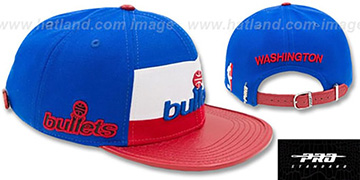 Bullets HWC HORIZON STRAPBACK Royal-Red Hat by Pro Standard