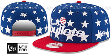 Bullets 'NBA ALL-STARRY SNAPBACK' Hat by New Era