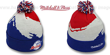 Bullets 'PAINTBRUSH BEANIE' by Mitchell and Ness