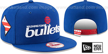 Bullets 'STATE STARE SNAPBACK' Royal Hat by New Era