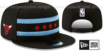 Bulls 18-19 CITY-SERIES SNAPBACK Black Hat by New Era