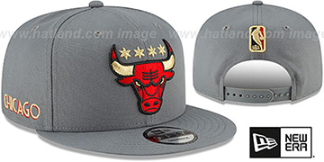 Bulls 20-21 'CITY-SERIES' ALTERNATE SNAPBACK Grey Hat by New Era