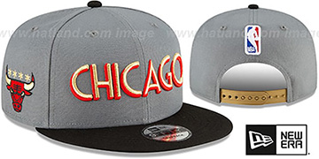 Bulls 20-21 CITY-SERIES SNAPBACK Grey-Black Hat by New Era
