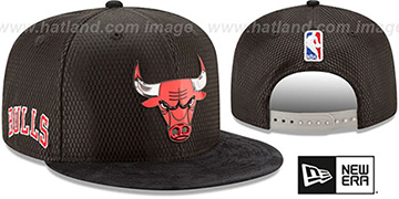 Bulls '2017 NBA ONCOURT DRAFT SNAPBACK' Black Hat by New Era