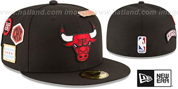 Bulls '2018 NBA DRAFT' Black Fitted Hat by New Era