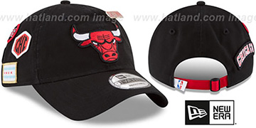 Bulls '2018 NBA DRAFT STRAPBACK' Black Hat by New Era
