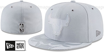 Bulls 2018 NBA ONCOURT ALL-STAR Grey Fitted Hat by New Era