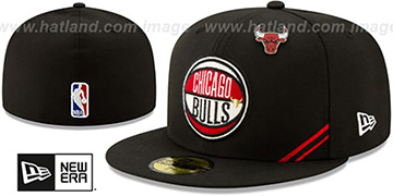 Bulls 2019 NBA DRAFT Black Fitted Hat by New Era