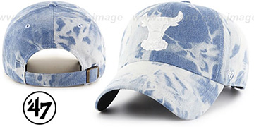 Bulls 'ACID WASH STRAPBACK' Hat by Twins 47 Brand