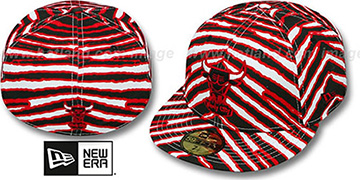 Bulls 'ALL-OVER ZUBAZ' Fitted Hat by New Era