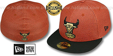 Bulls 'BASKET-BALLIN' Fitted Hat by New Era