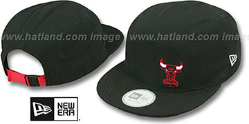 Bulls 'FLAWLESS CAMPER STRAPBACK' Black Hat by New Era