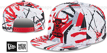 Bulls 'GEOMET TRICK SNAPBACK' Hat by New Era