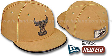 Bulls 'HARDWOOD DaBu' Fitted Hat by New Era
