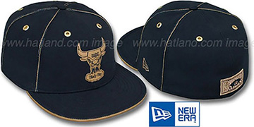 Bulls 'HW NAVY DaBu' Fitted Hat by New Era