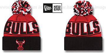 Bulls HWC 'REP-UR-TEAM' Knit Beanie Hat by New Era