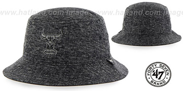 Bulls 'LEDGEBROOK BUCKET' Black Hat by Twins 47 Brand