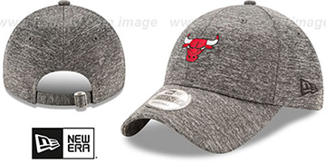 Bulls 'MICRO-TEAM STRAPBACK' Grey Hat by New Era