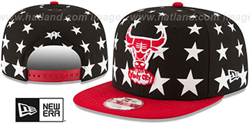 Bulls 'NBA ALL-STARRY SNAPBACK' Hat by New Era