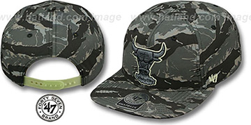 Bulls 'NIGHT-VISION SNAPBACK' Adjustable Hat by Twins 47 Brand