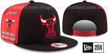 Bulls 'PANEL PRIDE SNAPBACK' Hat by New Era