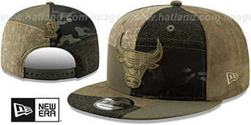 Bulls PATCHWORK PREMIUM SNAPBACK Hat by New Era