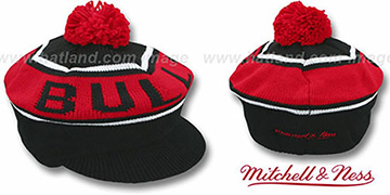 Bulls 'RERUN KNIT BEANIE' by Mitchell and Ness
