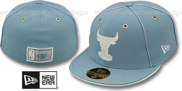 Bulls 'SKY BLUE DaBu' Fitted Hat by New Era