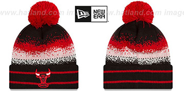 Bulls SPEC-BLEND Knit Beanie Hat by New Era