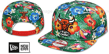 Bulls SUNSHINE BLOOM SNAPBACK Hat by New Era