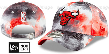 Bulls TIE-DYE STRAPBACK Hat by New Era