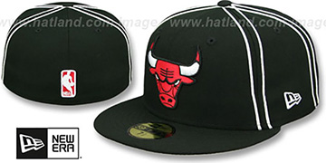 Bulls 'Y2K SOUTACHE' Black Fitted Hat by New Era