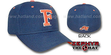 Cal State DH Fitted Hat by Zephyr - navy