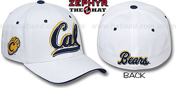 Cal 'TRIPLE-WHITE' Fitted Hat by Zephyr