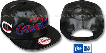 Canadiens 'REDUX SNAPBACK' Black Hat by New Era