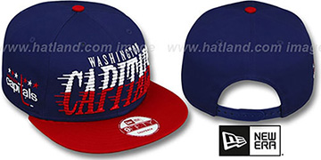 Capitals 'SAILTIP SNAPBACK' Navy-Red Hat by New Era